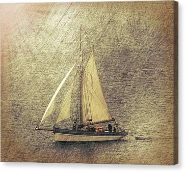 In Full Sail Canvas Print