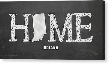 Evansville Canvas Print - In Home by Nancy Ingersoll