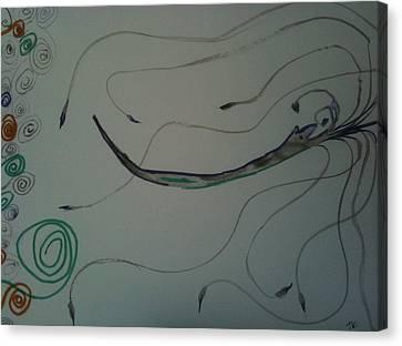 In Its Wake Canvas Print by Jonathan Kotinek