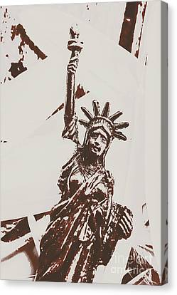 In Liberty Of New York Canvas Print by Jorgo Photography - Wall Art Gallery