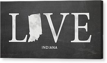 Evansville Canvas Print - In Love by Nancy Ingersoll