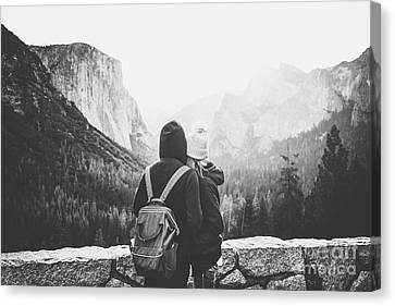 Yosemite Love Canvas Print by JR Photography