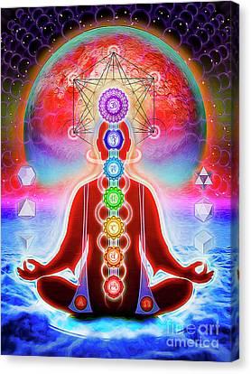 In Meditation Canvas Print by Dirk Czarnota