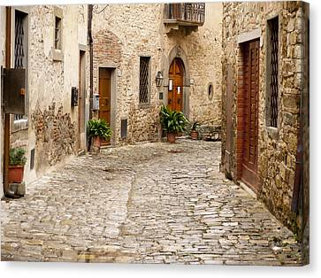 In Montefioralle Canvas Print by Rae Tucker