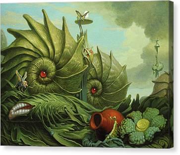In My Garden Canvas Print by Jim Thiesen