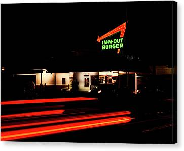 In - N - Out Burger Canvas Print