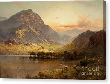 In North Wales Canvas Print by Celestial Images