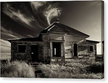In Ruin Canvas Print by Mike  Dawson