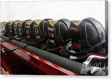 In Service Of Fire  Canvas Print by Steven Digman
