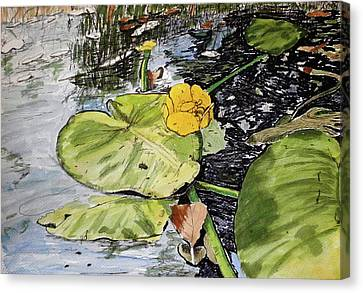 In Summer Day Canvas Print