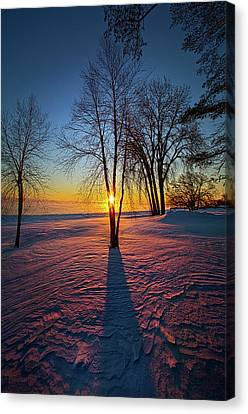 Canvas Print featuring the photograph In That Still Place by Phil Koch