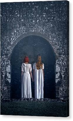 In The Arch Of A Church Canvas Print by Joana Kruse