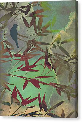 In The Bamboo Forest Canvas Print by AugenWerk Susann Serfezi
