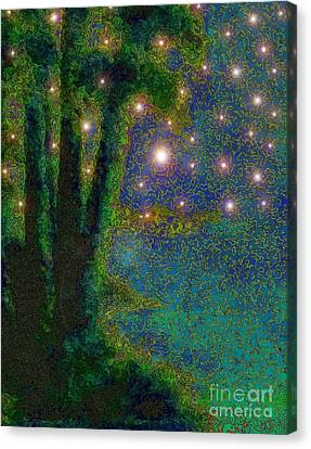 In The Beginning God... Canvas Print
