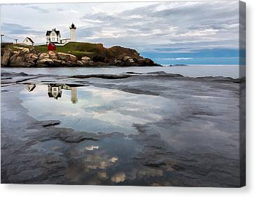 In The Beginning II Canvas Print by Jon Glaser