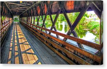 In The Bridge Canvas Print by Jackie Novak