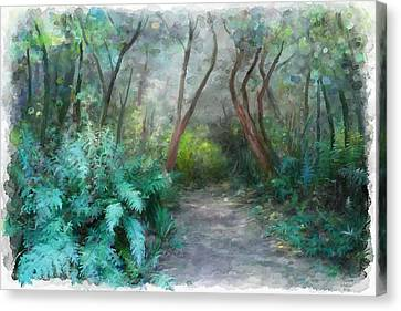 In The Bush Canvas Print by Ivana Westin