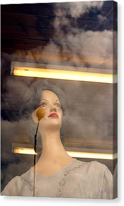 In The Clouds Of My Mind Canvas Print by Jez C Self