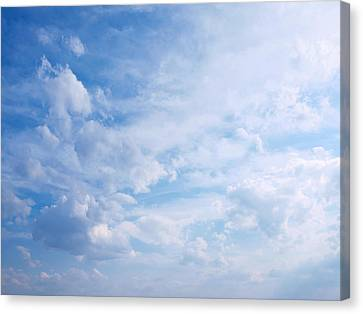 In The Clouds...cloudscape Canvas Print by Tom Druin