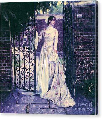 In The Doorway... Canvas Print by Steven  Godfrey