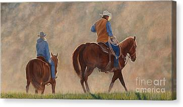 In The Dust Canvas Print by Danielle Smith
