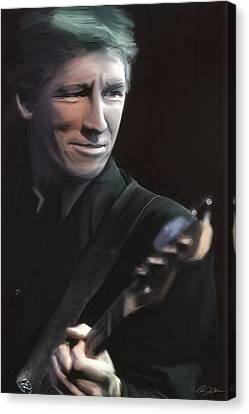 In The Flesh Roger Waters Canvas Print by Peter Chilelli