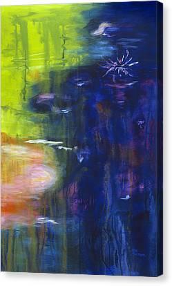 In The Flow Canvas Print by Tara Moorman