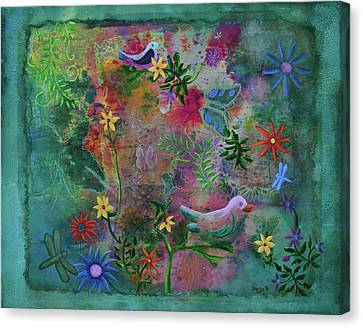 In The Garden Of My Imagination Canvas Print