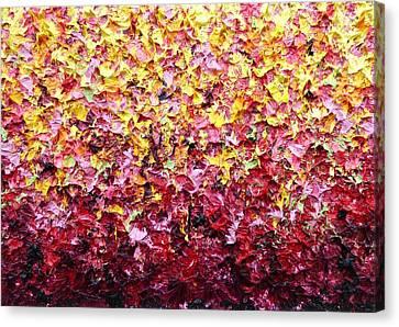 In The Garden Canvas Print by Rachel Bingaman