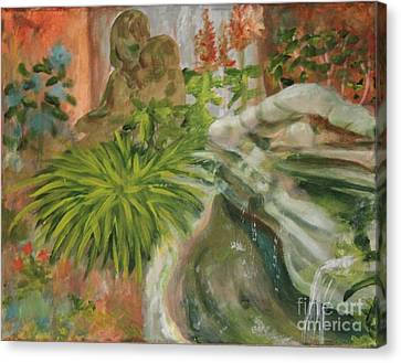 In The Garden Canvas Print by Terri Thompson