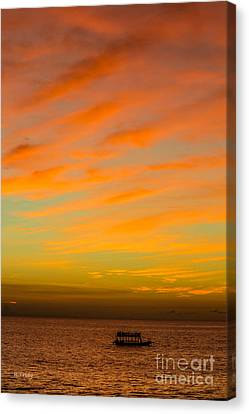 In The Heat Of The Night Canvas Print by Rene Triay Photography