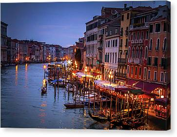 Canvas Print featuring the photograph In The Light by Andrew Soundarajan