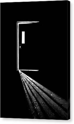 Asylum Canvas Print - In The Light Of Darkness by Evelina Kremsdorf