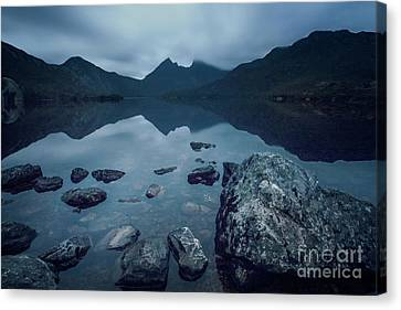 In The Light Of Dawn Canvas Print by Evelina Kremsdorf