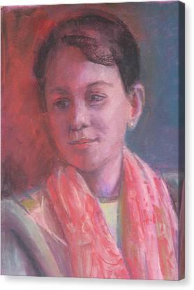 In The Light Canvas Print by Pamela Preciado