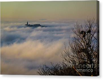 In The Mist 1 Canvas Print by Jean Bernard Roussilhe