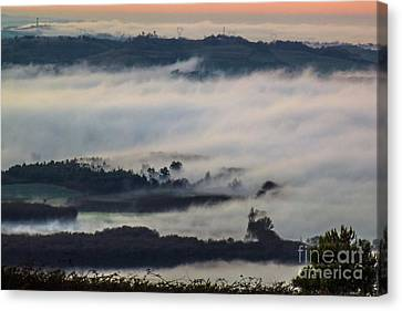 In The Mist 2 Canvas Print by Jean Bernard Roussilhe