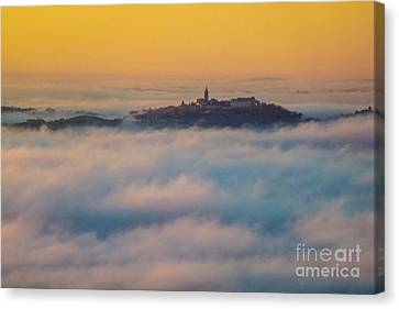 In The Mist 3 Canvas Print by Jean Bernard Roussilhe