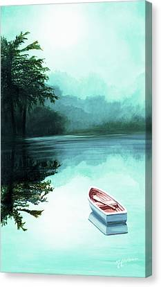 In The Morning Mist - Prints From My Original Oil Painting Canvas Print