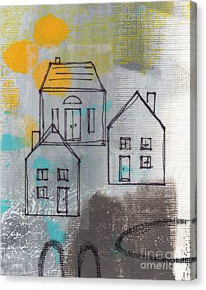 In The Neighborhood Canvas Print by Linda Woods
