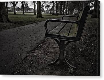 Canvas Print featuring the photograph In The Park by Stewart Scott