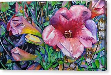 In The Pink Canvas Print by Jeremy Holton