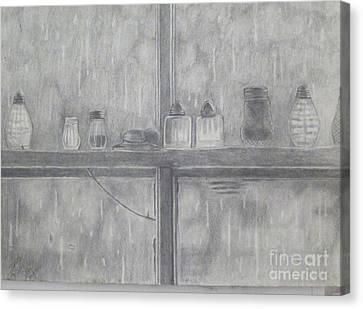 In The Rain Canvas Print by John Davis