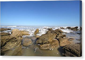 In The Rocks Canvas Print