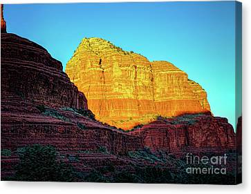 In The Shadow Of The Bell Canvas Print by Jon Burch Photography