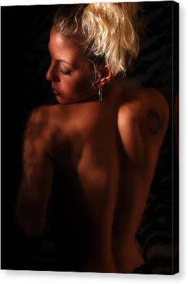 In The Shadows Canvas Print by Clayton Bruster