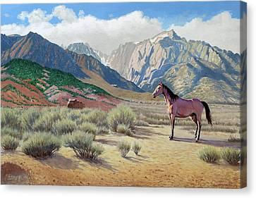 In The Sierras Canvas Print by Paul Krapf