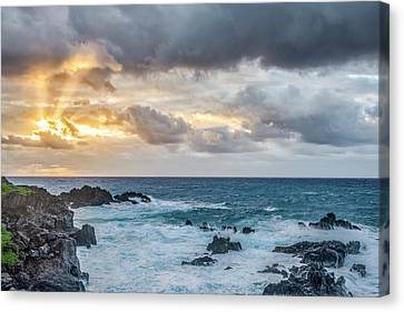 In The Sky  Canvas Print by Jon Glaser
