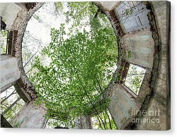 In The Tower Canvas Print by Michal Boubin