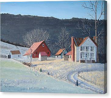 In The Winter Of My Life Canvas Print by Norm Starks